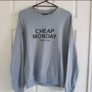 Cheap Monday - Crew Neck Jumper Grey
