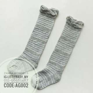 Long socks trendy