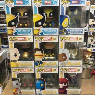 Funko Pop Marvel X-men Set Vinyl Figure Collectible Toy Gift Sale
