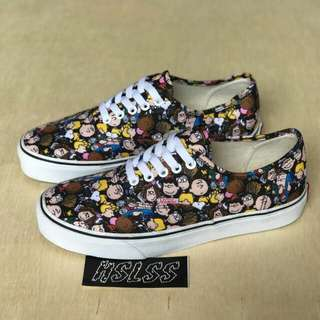 "PEANUTS X VANS AUTHENTIC ""SNOOPY ON THE GANG"""