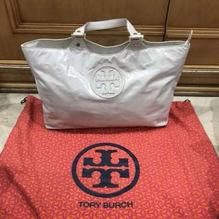TORY BURCH Broken White Hand Bag - Shoulder Bag - Leather