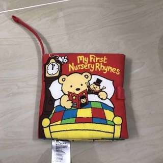 #Freepostage My first nursery rhymes cloth book