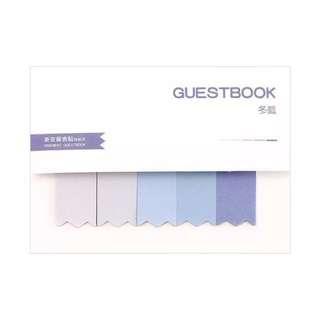 SALE Blue pastel memo paper sticky note minimalistic