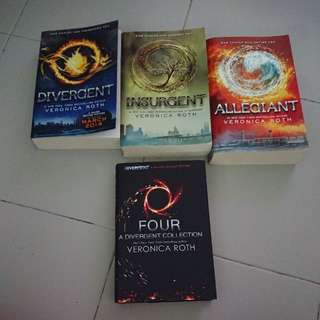 Cheapest: Divergent Series set of 4