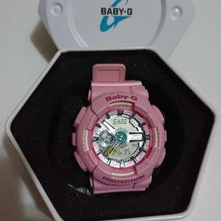 粉紅色Baby-G