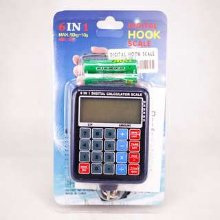 Digital Hook Scale 6 in 1 Multipurpose