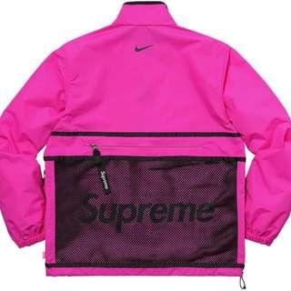 Supreme X Nike Trail Running Jacket 桃紅 Adidas Yeezy AJ NMD
