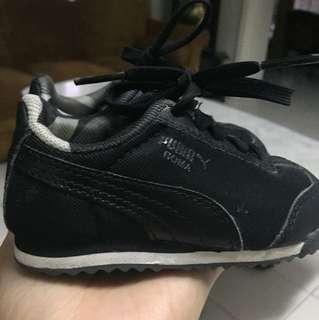 Black Puma baby shoes ( original )