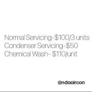 Aircon Services ❄️
