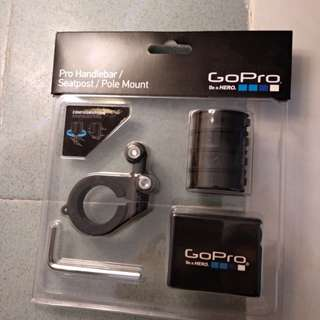 Gopro handle bar seatpost go pro