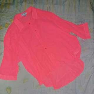Cotton on - Pink Neon Shirt