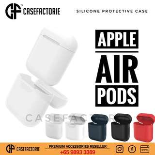 Casefactorie Silicone Protective Case for AirPods