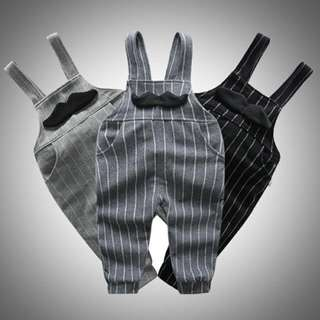 Pants Overall Baby Toddler Trousers • Mustache Design