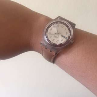 Swatch original leather