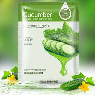 Single Face Sheet Mask (Cucumber)