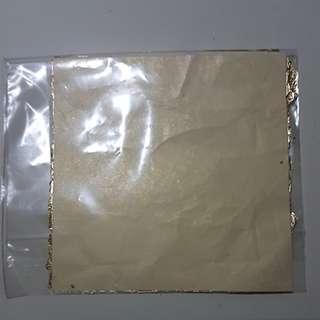 Gold foil 5pcs
