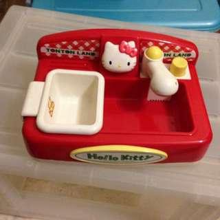 Hello kitty toy sink