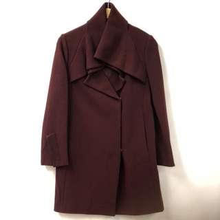 Prada burgandy jacket size 38