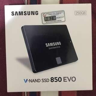 Samsung 850 evo 250g 2.5 ssd sata3