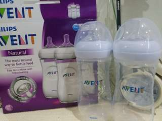 3 pcs New Avent Teets (3m+) ONLY