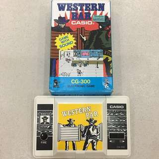 MINT Casio Western Bar Game