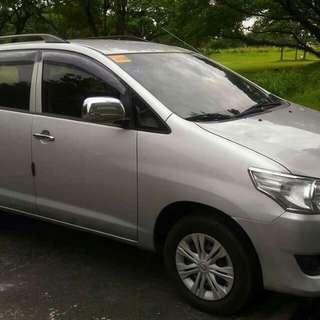 Toyota innova J 2014 for sale