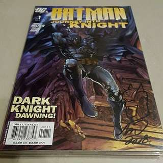BATMAN Journey into Knight: Set of 11 (ALL Sign by Artist TAN ENG HUAT)