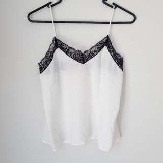 Never worn - lace slip top - loungewear / intimates - XS 6