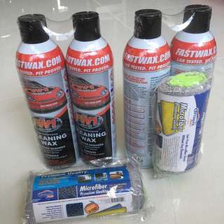 FW1 Carnauba Wax (USA Product) - water, dirt, brake dust repellant