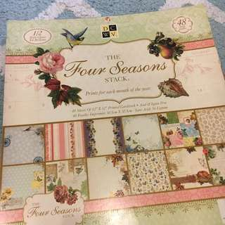 Scrapbooking paper book and additional paper!