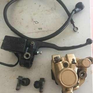 Master Pump & Brek Caliper Rxz135