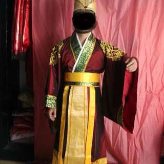Chinese Costume for Halloween & Sevens