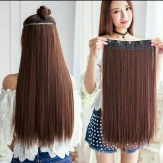 Hair Extension in light brown colour  * brand new in packge *pm if int