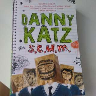 s.c.u.m. by Danny Katz (PRICE REDUCED, CHEAP!)