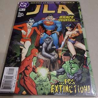 JLA #91-93: Set of 3 (ALL Sign by Artist TAN ENG HUAT)