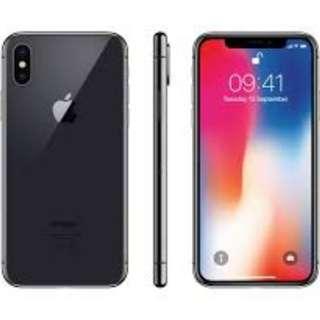 Iphone x 10 256gb black