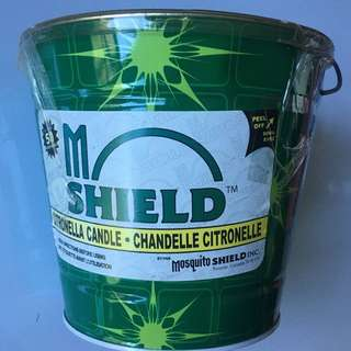 Mosquito Shield Citronella Candle 戶外防蚊蠟燭
