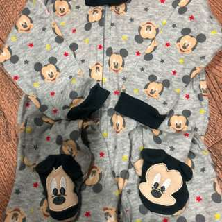 Mickey Mouse Onesies