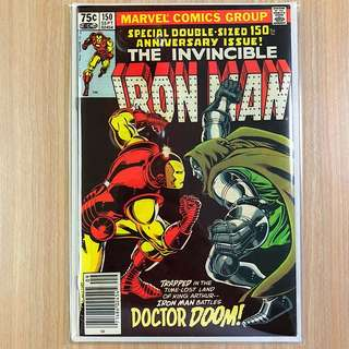 MARVEL COMICS The Invincible Iron Man #150-Doctor Doom Appearance (Serious Buyers Only)