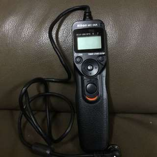 NIKON MC-36A MULTI-FUNCTION REMOTE CORD SHUTTER RELEASE (LAST TIME BOUGHT CLOSE TO RM600)