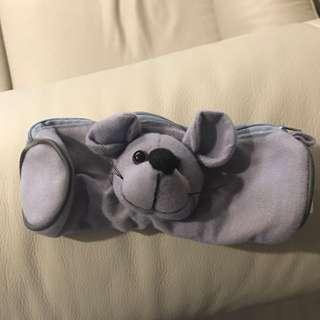 Mouse Soft Pencil Case