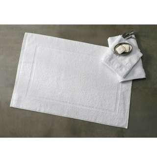Luxury Egyptian Cotton Bath Mat - White