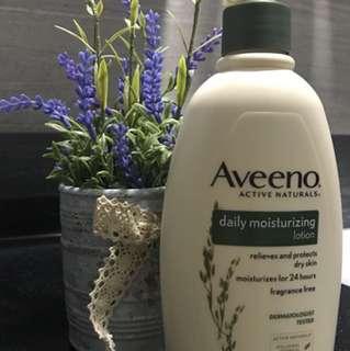 Daily moisturizing lotion