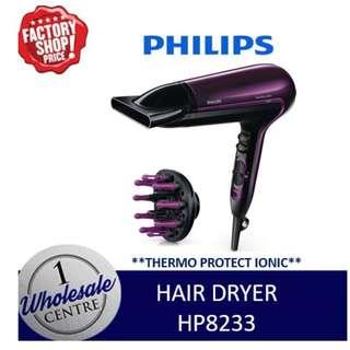 PHILIPS HP8233 HAIR DRYER