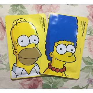 [Limited Ed] THE FACE SHOP X The Simpsons Character Mask