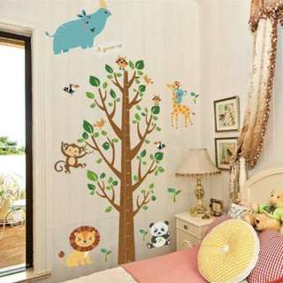 Grow Chart Wall Decal Sticker Double Sheets