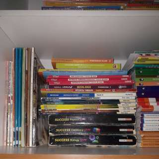 SPM Reference and exercise Books
