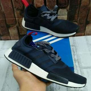 ADIDAS NMD R1 NAVY RED MIROR QUALITY SIZE 39+45 STOCK