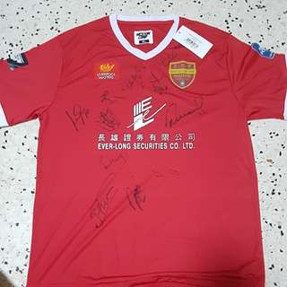 Autographed Liverpool Masters T-shirt