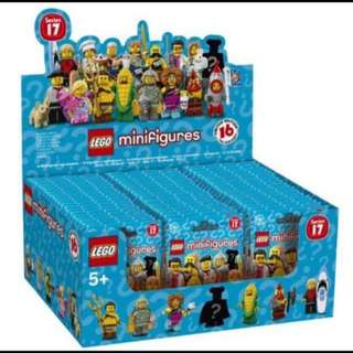 Lego Minifigures Series 17 Complete 60 bags.